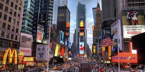 Quince millones de turistas europeos visitaron Estados Unidos el 2018