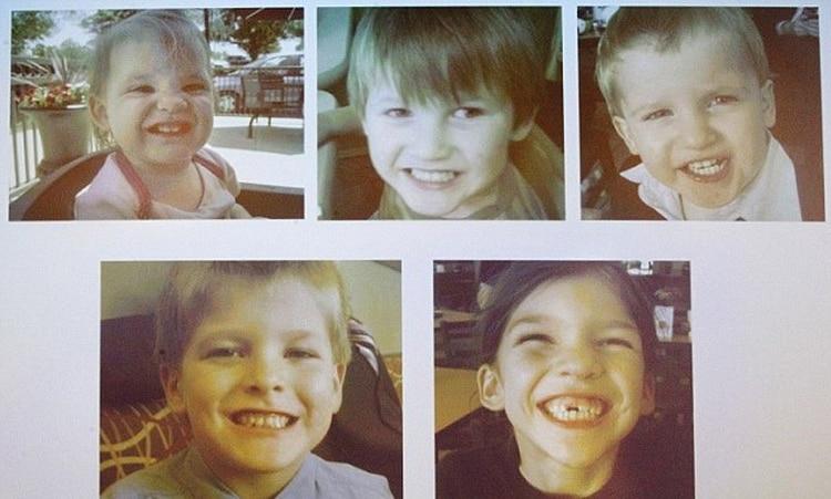 Estranguló a sus cinco hijos y ocultó los cuerpos por nueve días