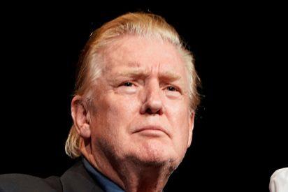 Las redes se burlan de este peinado ocasional de Trump