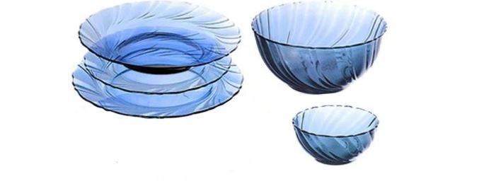 vajillas de vidrio templado para el día a día