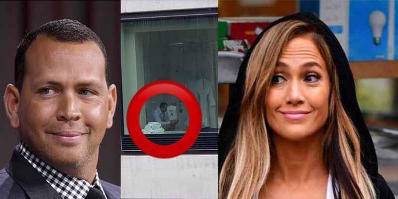 Alex Rodríguez ya ha pactado con de Jennifer López lo que van a hacer para que no les hagan fotos en el váter
