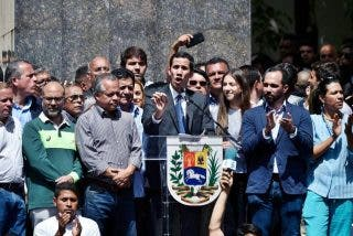 Guaidó pasa de Sánchez y crea su propia agenda de 'primer nivel' en Madrid