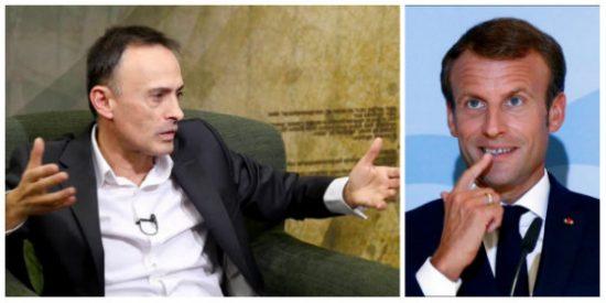 Luis Ventoso le vuela la cresta al 'gallito' Macron por picotear en el corral español y encima metiendo la pata a base de bien
