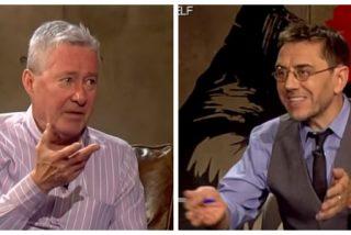 """Monedero reprocha a Verstrynge que vaya a una """"cadena de derechas como laSexta"""" y éste le hace una confesión inesperada"""