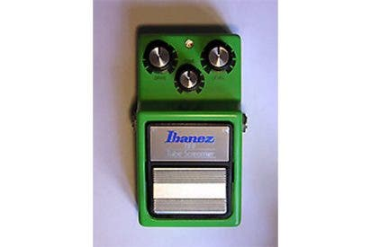 ¿Por qué el pedal Ibanez Tube Screamer es un complemento muy recomendable para tu guitarra?