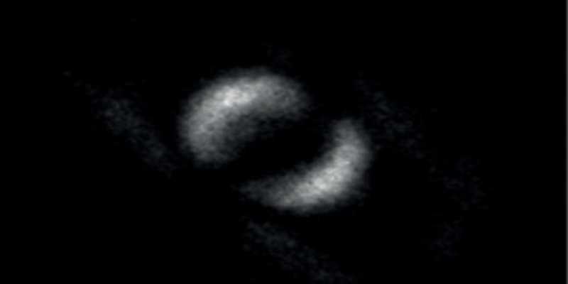 Así es la primera foto publicada de un entrelanzamiento cuántico