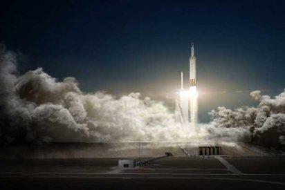 SpaceX muestra cómo volvió a la Tierra la cubierta exterior del Falcon Heavy