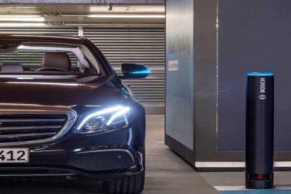 El nuevo parking inteligente creado por Mercedes-Benz ya es una realidad