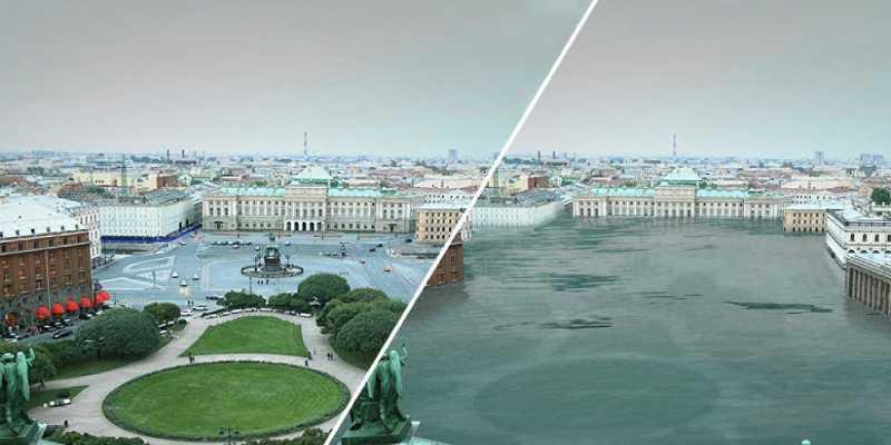 Greenpeace muestra la Tierra 'de vieja' como si usaran la aplicación Faceapp
