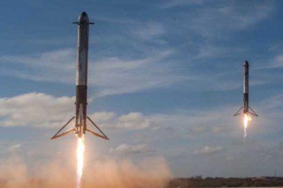 El cohete reutilizable de Space X cumple su primera misión comercial