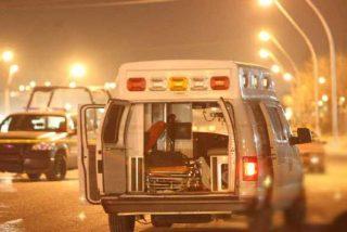 Aprovechan la muerte del chófer para asaltar este camión