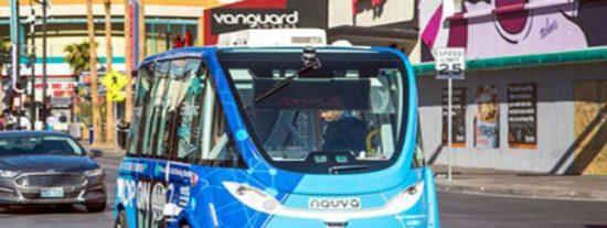 Descubren el motivo del accidente en Las Vegas de un autobús sin conductor