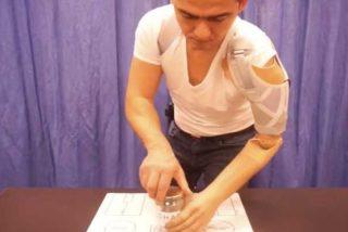 Estos nuevos sensores permiten que amputados controlen sus prótesis
