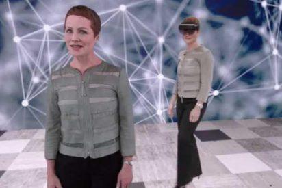 """Gracias a este holograma """"gemelo"""" no necesitarás la figura de un traductor"""