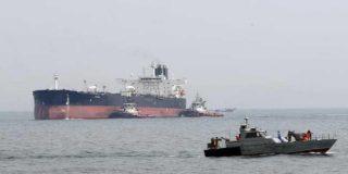 Este carguero es incautado por Irán, según ellos, por contrabando de petróleo