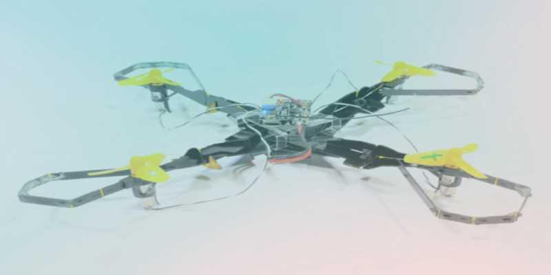 Estos nuevos drones con armadura podrán protegerse de los impactos