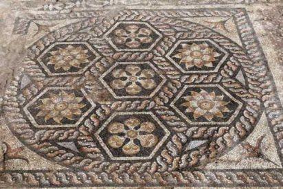 Descubren un mosaico en Egipto sobre el que los romanos hacían grandes fiestas