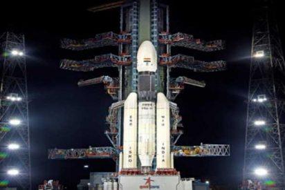 India quiere ser el cuarto país en llegar al satélite y lanza su misión lunar Chandrayaan-2