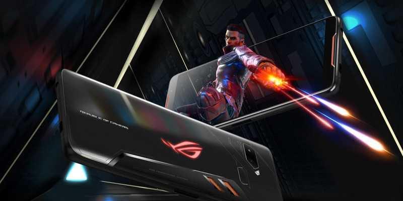 Lanzan el Android más potente del mundo para videojuegos ROG Phone II