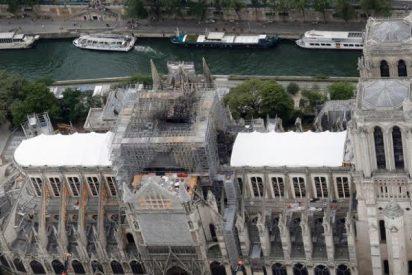 El 'fuego' vuelve a amenazar a la catedral de Notre Dame