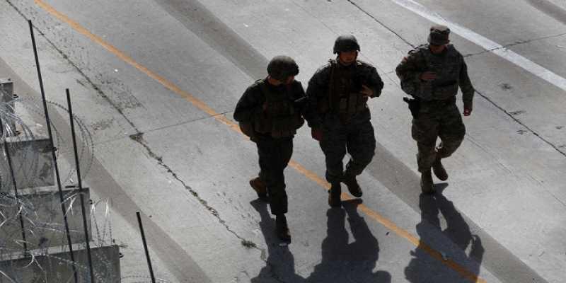 Detenidos 16 marines por tráfico de personas, drogas y delitos varios