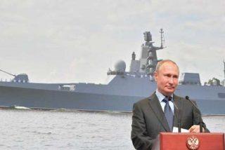 Putin 'amenaza' con que Rusia construirá una flota única con grandes capacidades bélicas
