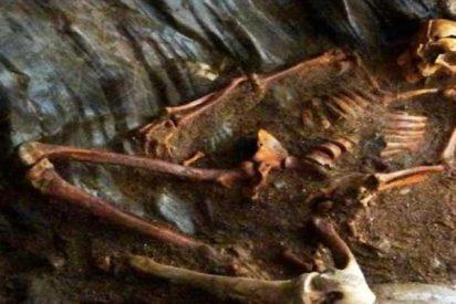 Descubren a un hombre brutalmente asesinado hace 1400 años que comía como un rey