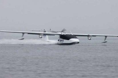 Los chinos ahora usan este hidroavión no tripulado para entregar el correo