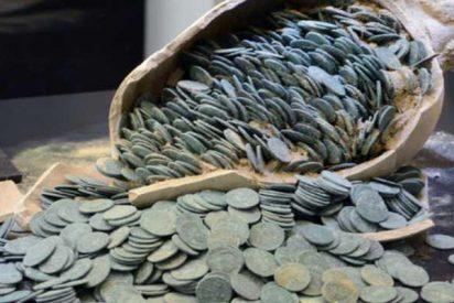 El tesoro romano de Tomares tiene un valor de casi medio millón de euros