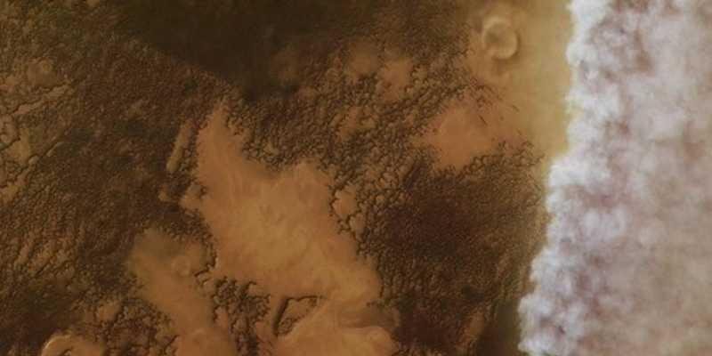 La Sonda Mars-Express examinó con detalle 8 tormentas de polvo en Marte y descubrió esto…