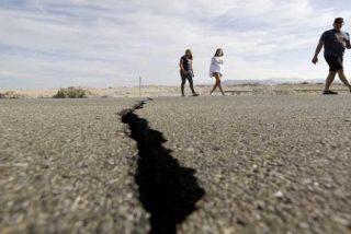 El terremoto de California deja una gigantesca grieta visible desde el espacio