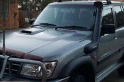 Cuatro niños condujeron más de 900 kilómetros con este vehículo 4x4 robado para irse a pescar