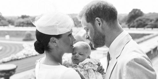Bautizan en Windsor a Archie, hijo del príncipe Enrique y Meghan Markle