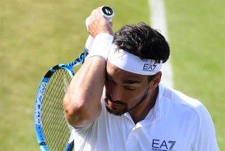"La ira de Fognini contra Wimbledon: ""¡Malditos ingleses! Espero que estalle una bomba en este club"""