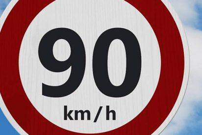 ¿Sabes cómo son las multas por superar los 90 km/h en carreteras convencionales?