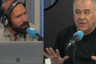 "Alcalá le escupe en la cara a Ferreras ""la basura"" que emite la tele del Real Madrid: ""Se insulta a mis compañeros de COPE"""