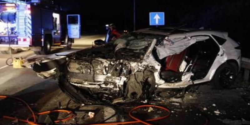 16 muertos en la carretera, 7 de ellos el domingo, este fin de semana
