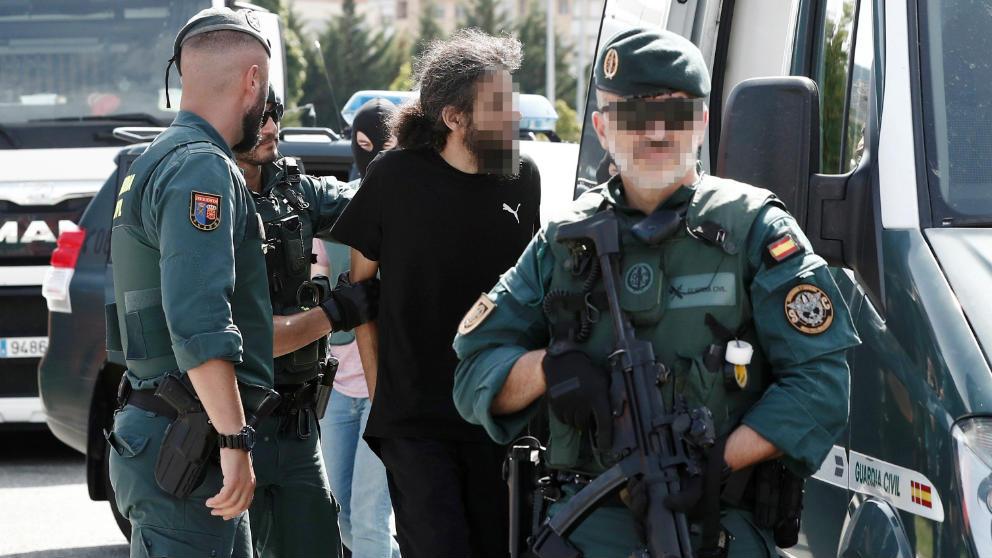 La Guardia Civil atrapa al camionero yihadista reincidente que se compara con la ministra Delgado y el comisario Villarejo