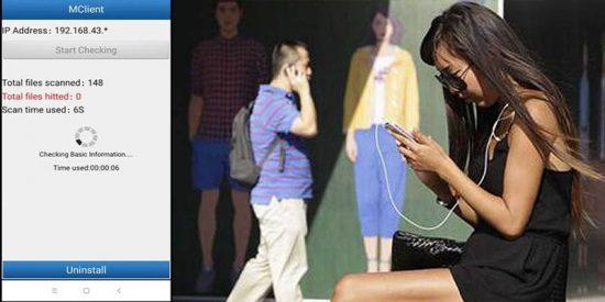 """¿Sabías que en China instalan """"secretamente"""" en los teléfonos de turistas y otros visitantes a Xinjiang una aplicación espía?"""
