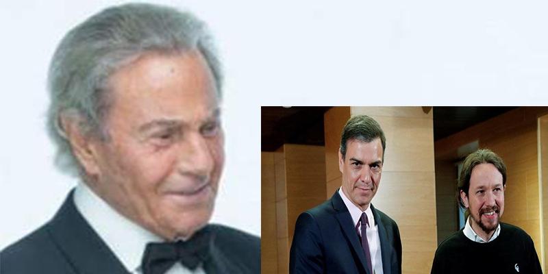 Las ácidas palabras de Arturo Fernández sobre Pablo Iglesias y Pedro Sánchez que se han hecho virales