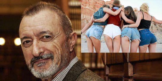 """Arturo Pérez-Reverte y """"El culo de las señoras"""""""
