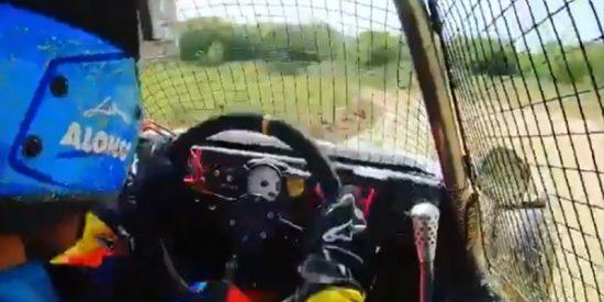 Así entrena Fernando Alonso en kart cross