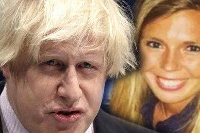 Carrie Symonds, la novia del primer ministro británico Boris Johnson fue víctima de una agresión sexual