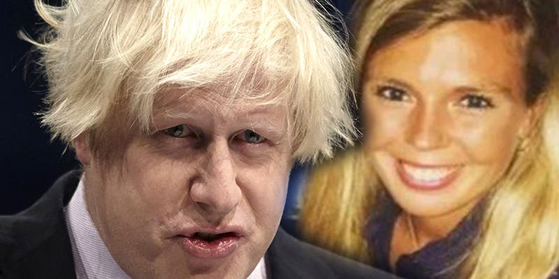Carrie Symonds, la novia del primer ministro británico Boris Johnson fue víctima de una agresión sexual