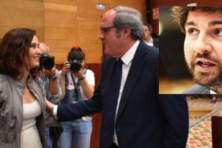 ¿Va a regalar VOX Murcia y la Comunidad de Madrid al PSOE de Sánchez y sus compinches de Podemos?