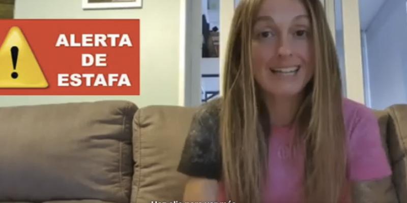 La corredora de trail Azara García, estafada por un hombre en el aeropuerto de Barajas