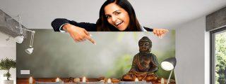 ¡Antes de poner un Buda en tu salón averigua lo que dicen sus manos!