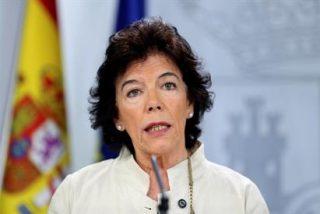 El cantoso lapsus de Celaá a la hora de referirse al líder de Podemos