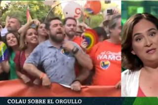 """Iñaki López y laSexta ya ni se molestan en disimular: Barra libre para que Colau insulte a Ciudadanos por """"ir a provocar"""" el día del Orgullo Gay"""