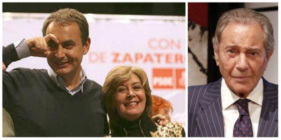 La 'zejatera' Concha Velasco tiene un arranque de dignidad y saca la cara por Arturo Fernández en la TVE de la 'soviética' Mateo